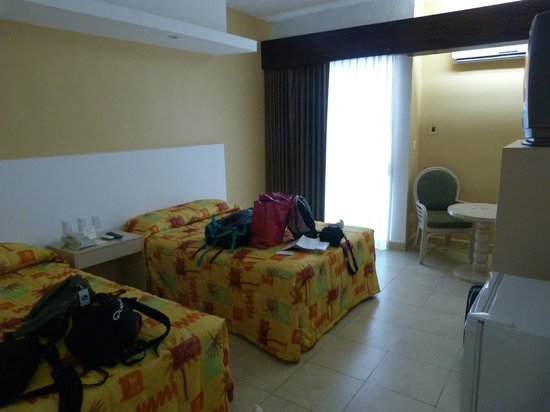 Hotel Los Cocos: la chambre