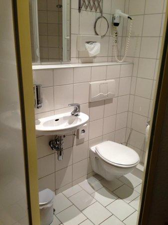 CCA Hotel Pension Delta: Sink / Toilet