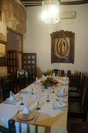 El Meson del Marques: the dining room (probably only for special occasions!)