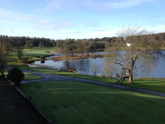 Dromoland Castle Hotel: View from suite