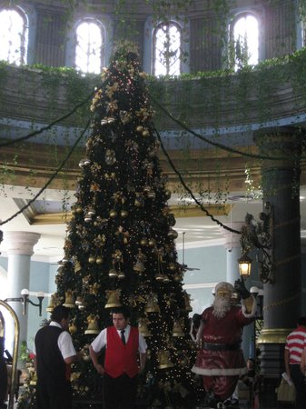 Hotel Riu Cancun: christmas time from the lobby