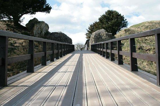 Old Sarum: Il ponte d'ingresso