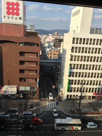 Okayama Washington Hotel Plaza : 窓からの眺望