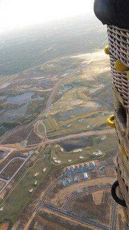 Aerostat Adventures : view of Orlando area