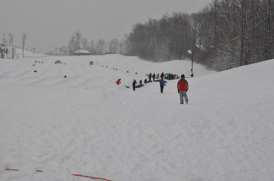 Shanty Creek Resorts: tubing park at cedar village