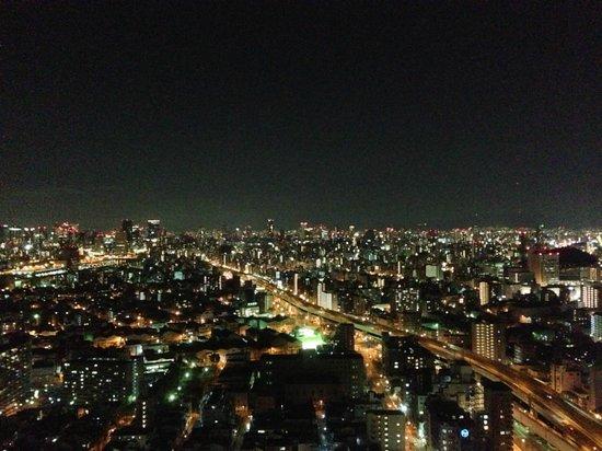 Hotel Osaka Baytower: 海側でなくても、こんな夜景が見えました