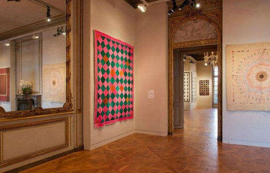 Mona Bismarck American Center, Quilt Art Exhibition