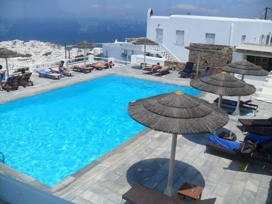 Alkyon Hotel: pool area