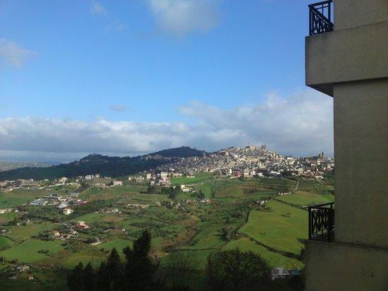 NH Caltagirone Villa San Mauro : Panorama dalla terrazza