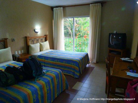 chambre Hotel Plaza Palenque