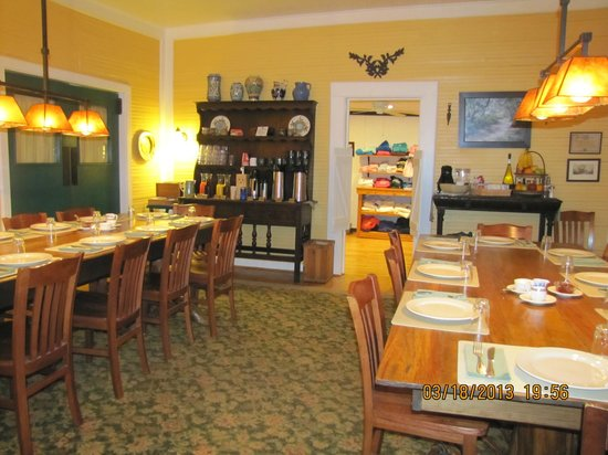 The Lodge on Little St. Simons Island: Diningroom