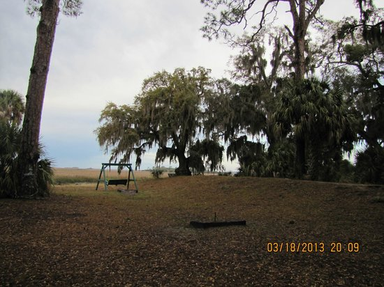 The Lodge on Little St. Simons Island: View from the Main Lodge
