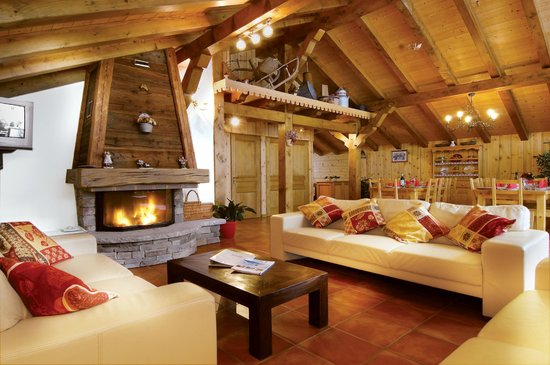 Chalet Marie: Living Room