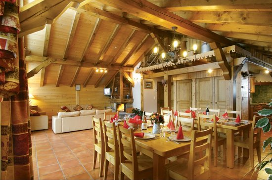 Chalet Marie: Dining area