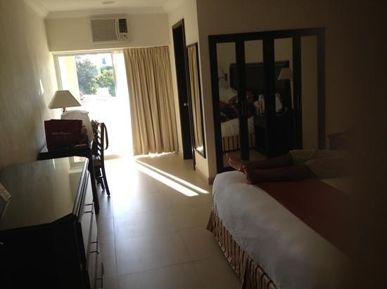 Hotel Bonampak: habitación