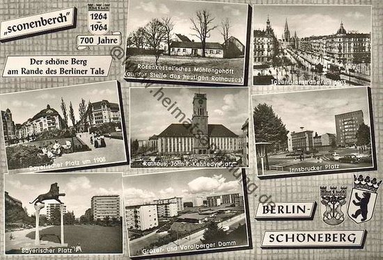 vintage berlin guide tours schaneberg the weimar republic tour postcards