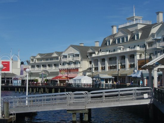 Disney's BoardWalk Villas: Boardwalk Inn view