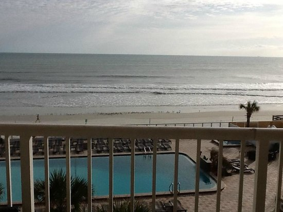 Holiday Inn Resort Daytona Beach Oceanfront: View from hotel room.