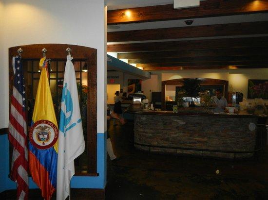 Mondongo's Restaurant: inside