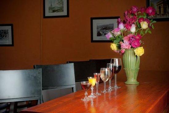 Chef Patrick's: Bar table