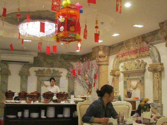Hanoi Meracus Hotel 1: Desayuno