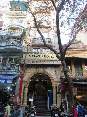 Hanoi Meracus Hotel 1: Frente del Hotel