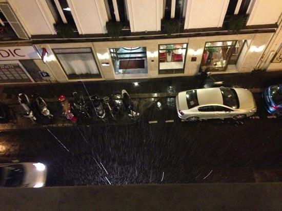 Hôtel Joyce - Astotel : 窓から2