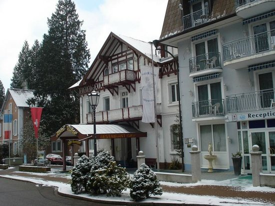 TOP Hotel Ritter: Hotel ingang