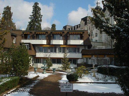 TOP Hotel Ritter: Achterzijde van het hotel