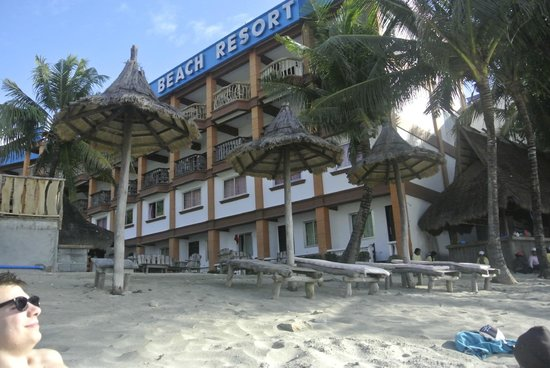 Tamaraw Beach Resort: Hotel