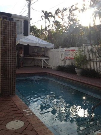 Albury Court Hotel in Key West: actual pool size