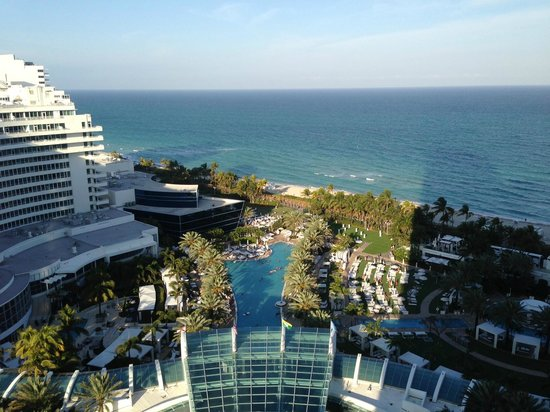 Fontainebleau Miami Beach: View from our Suite