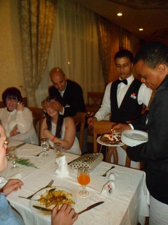 Concorde Hotel Marco Polo: My birthday surprise