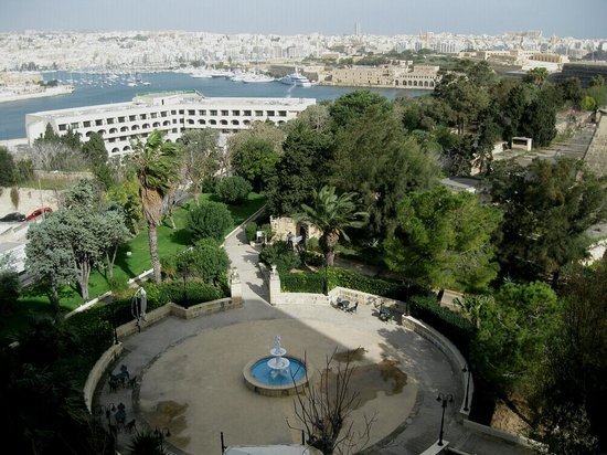 The Phoenicia Malta: Excelent view from Room 213