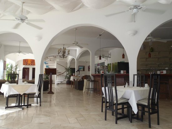 Anacaona Boutique Hotel: Anacaono retaurant and lobby area
