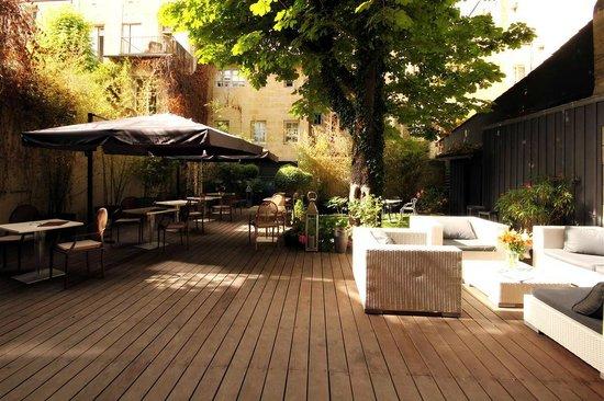 The Wine Bar : So Wine terrace