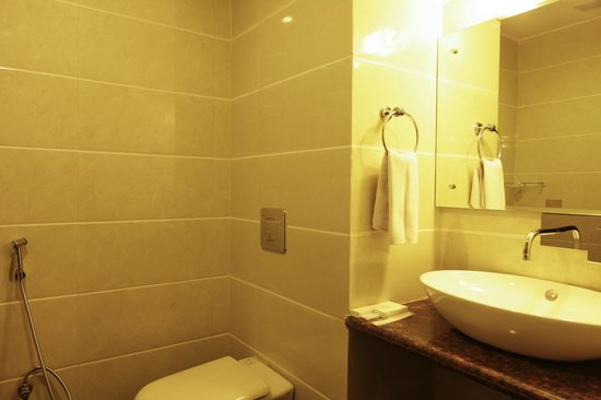 Airport Hotel Grand: Bathroom