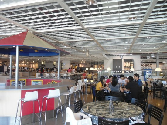 eating area picture of ikea restaurant abu dhabi tripadvisor. Black Bedroom Furniture Sets. Home Design Ideas