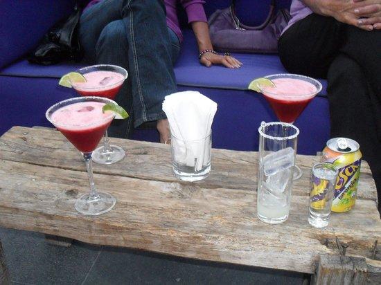 La Purificadora: Bebidas