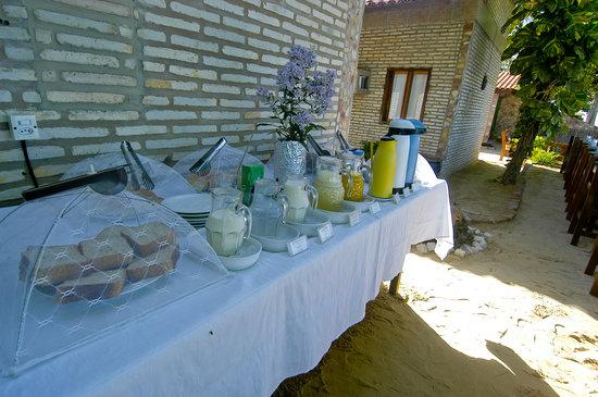 Pousada Ponta da Pedra: buffet café da manhã