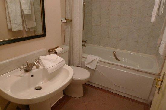 Grafton Capital Hotel: Ванная комната