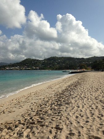 Radisson Grenada Beach Resort: secluded beach