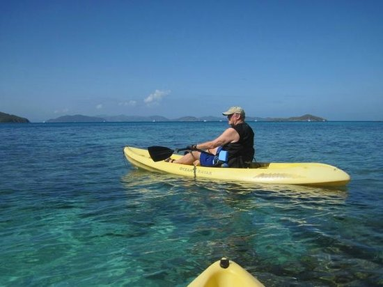 Mango Bay Resort : Once you kayak at Mango Bay any other kayaking is not the same.