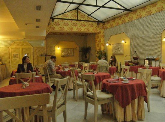 Hotel Dona Maria: Breakfast Room
