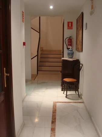 Hotel Don Paula: Pasillo
