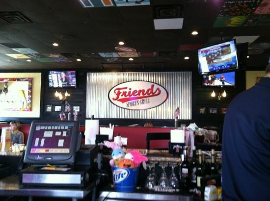 Friends American Grill: Great Atmosphere too!!