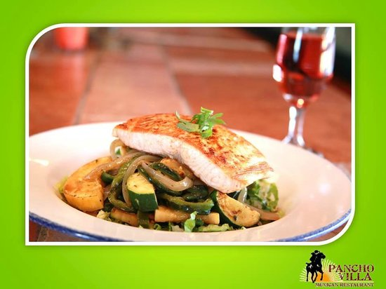 Pancho Villa Mexican Restaurants: Grilled Salmon
