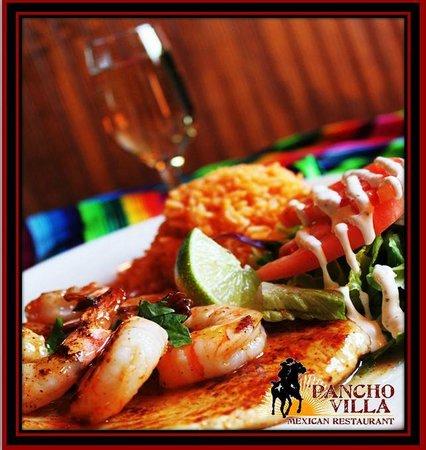 Pancho Villa Mexican Restaurants: Margarita Chicken and Shrimp