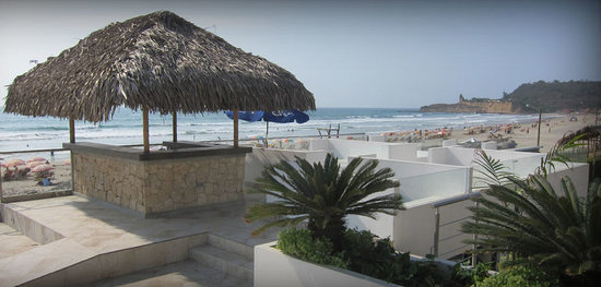 Dharma Beach: terraza