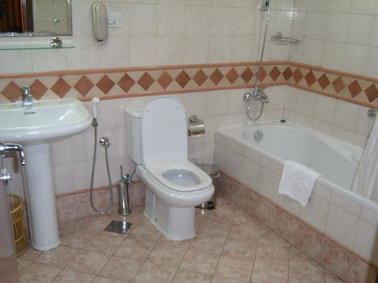 Belvedere Court Hotel Apartments: Convenient bathroom
